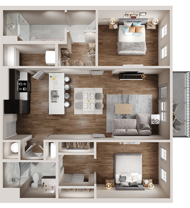 SHANDY Floor Plan Image